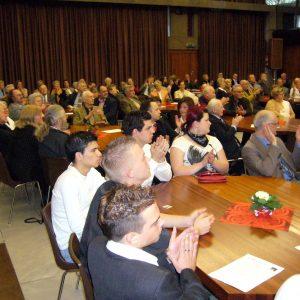 Publikum beim Neujahrsempfang 2